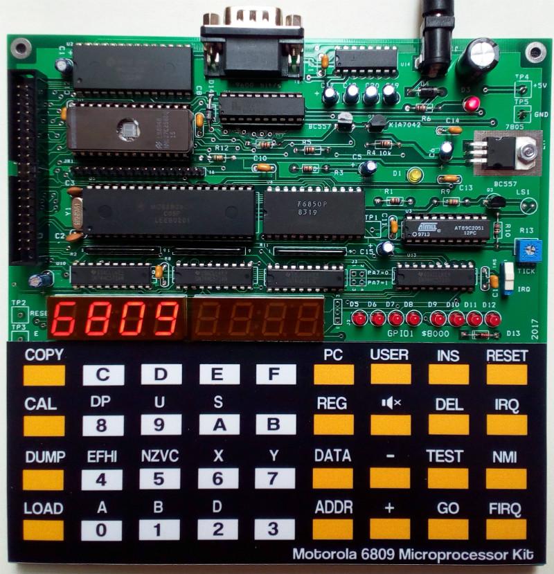Motorola 6809 SBC