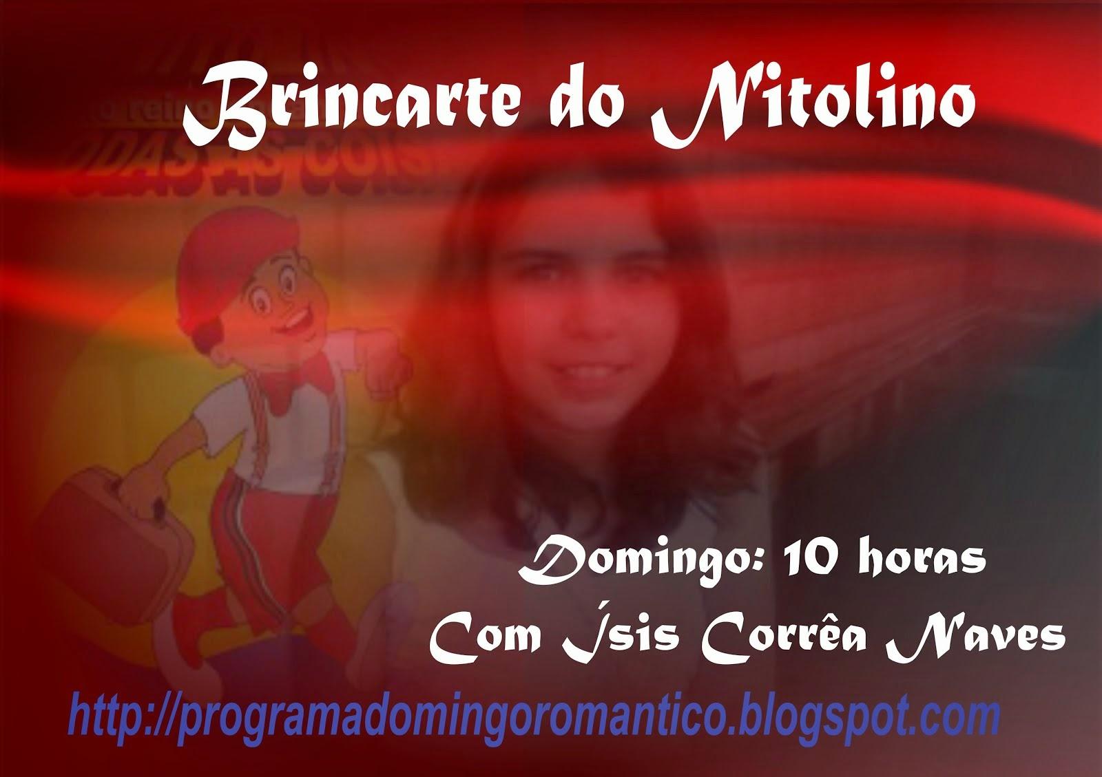 PROGRAMA BRINCARTE DO NITOLINO