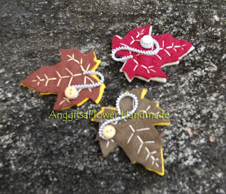 autumn Leaf Brooch