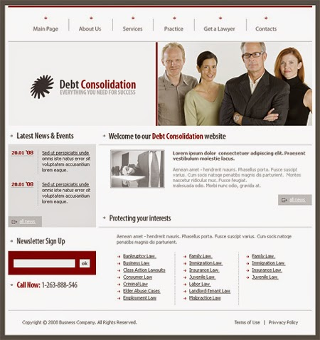 bank templates free download