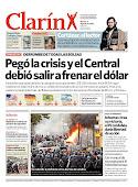 ...El diario Clarín lo cita en su portada...