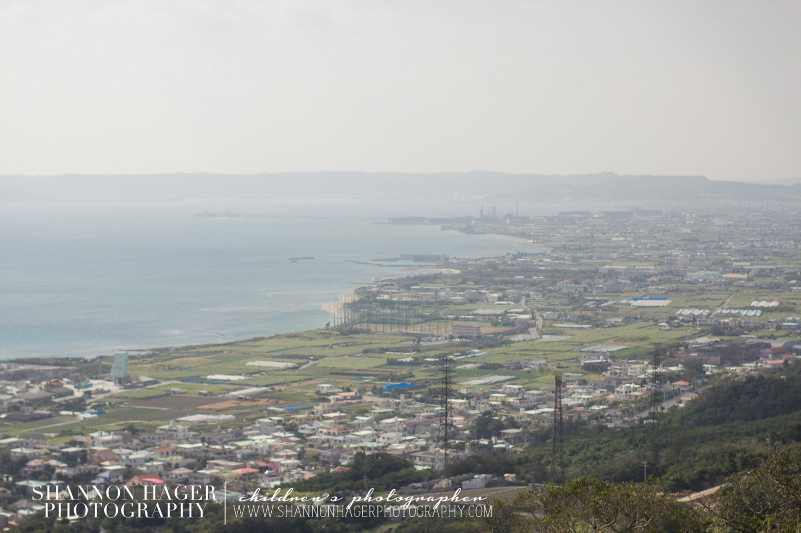 Nakagusuku Castle View by Shannon Hager Photography