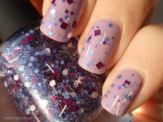 Swatch & Review: ILNP - Purple Stuff