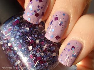 Swatch & Review: ILNP - Purple Stuff