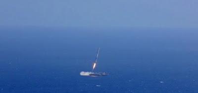 Hipernovas: SpaceX Falha Novamente ao Tentar Pousar o Primeiro Estágio de Seu Foguete Falcon [Vídeo]