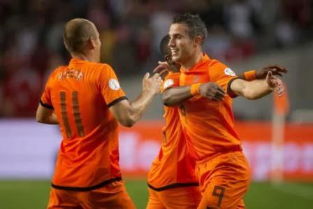 Prancis vs Belanda