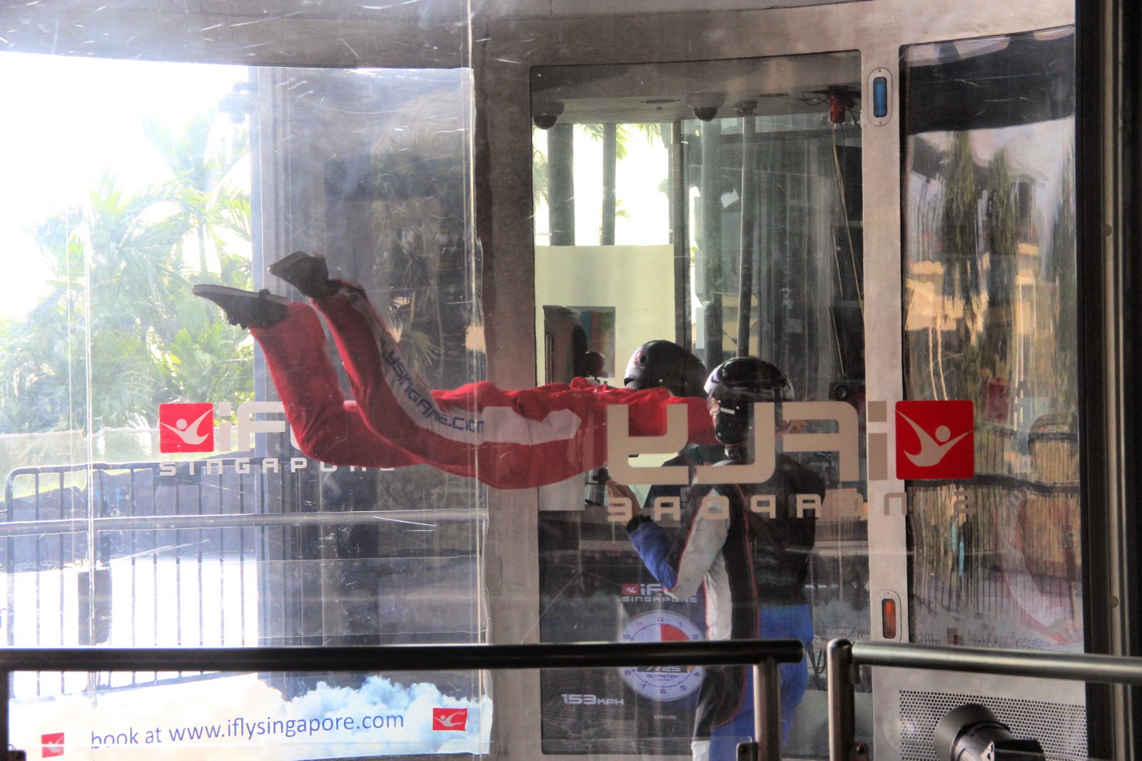 Defying Gravity Indoor Skydiving In Singapore Ifly Adult Up