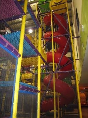big slides kl with kids