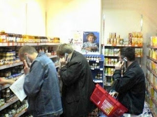 How men shop for baby food