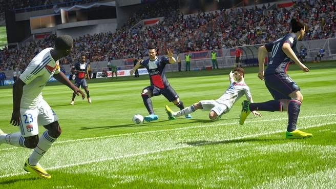FIFA 15 ps4 skills