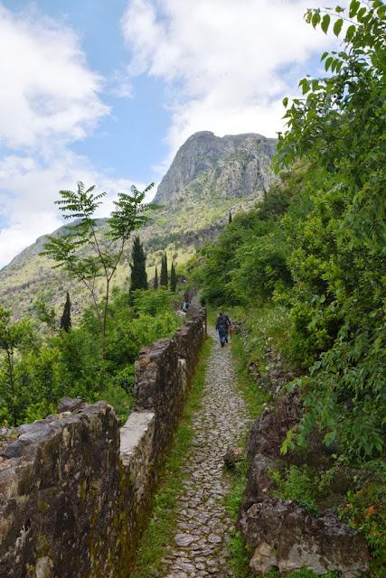 Kotor St. John's mountain