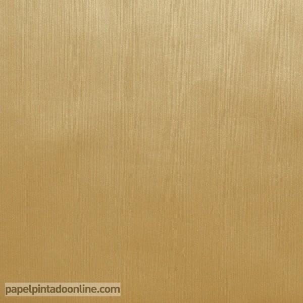 Papel pintado papeles pintados lisos for Papel de pared dorado
