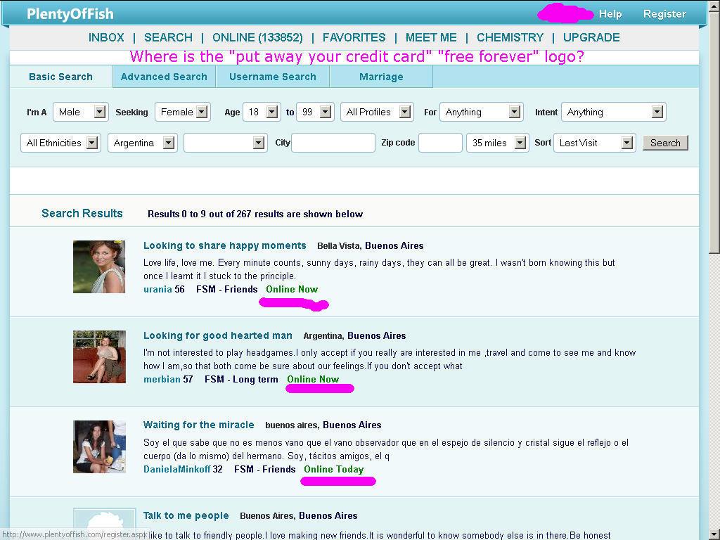 Pof browse profiles