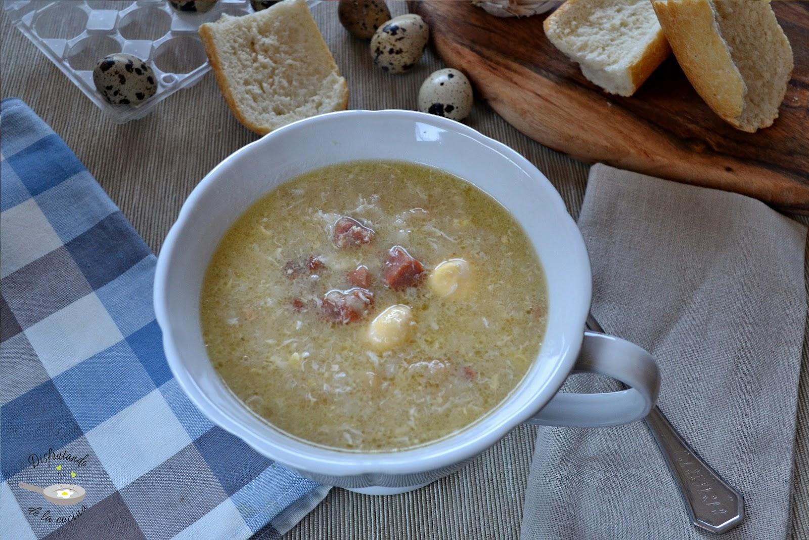 Disfrutando de la cocina - Sopa castellana youtube ...