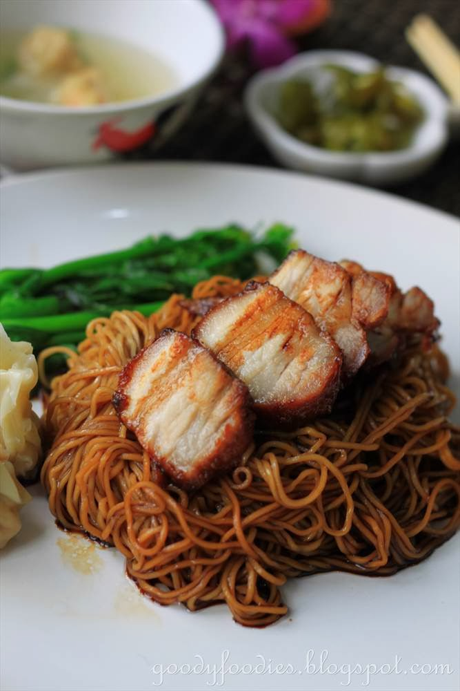 wantan mee print wantan mee salty sweet noodles fragrant pork wantans ...