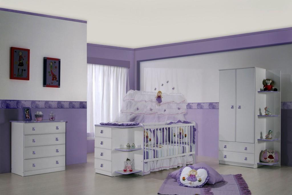 Como decorar o quarto do bebê romanomarques ~ Quarto Rosa E Roxo