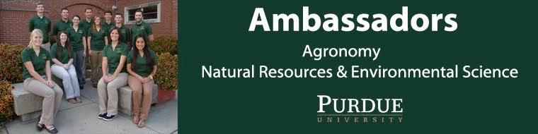Purdue Agronomy Ambassadors