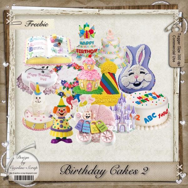 BIRTHDAY CAKES 2 TAGGER SIZE - CU Cajoline_birthdaycakes2_cu