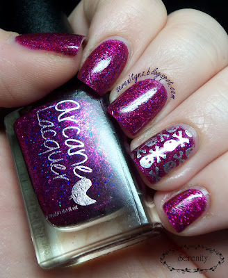 Arcane Lacquer Funhouse Swatch