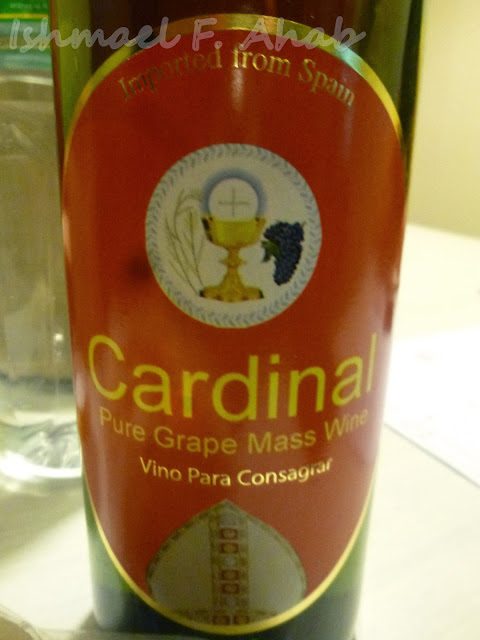 Cardinal Mass Wine from St. Paul's