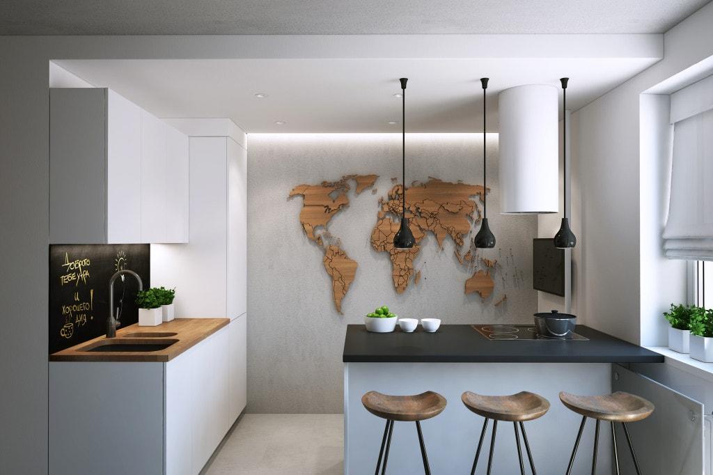 C mo una peque a cocina tambi n puede ser adorable - Cocinas pequenas minimalistas ...