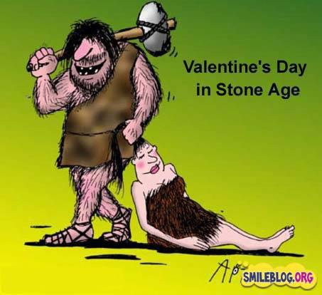 Celebrating Valentines day Since Stone Age