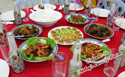 food tasting at date with bloggers in melaka