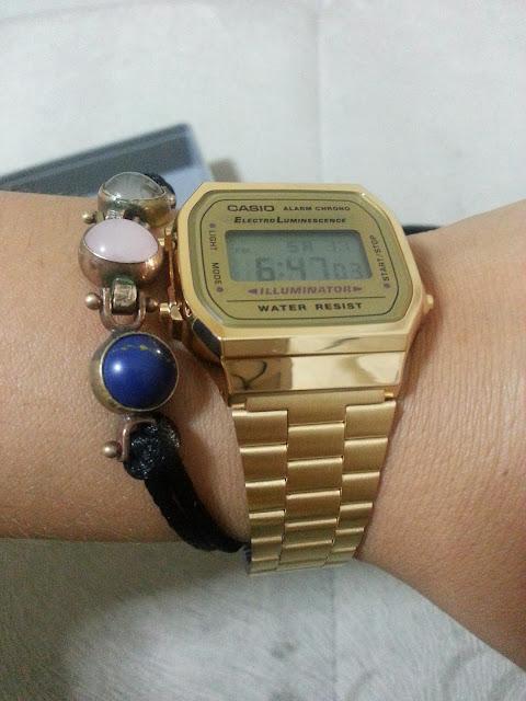 Casıo gold saat