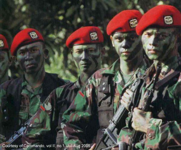 45ugvuko 10 Pasukan Khusus yang Dimiliki Indonesia