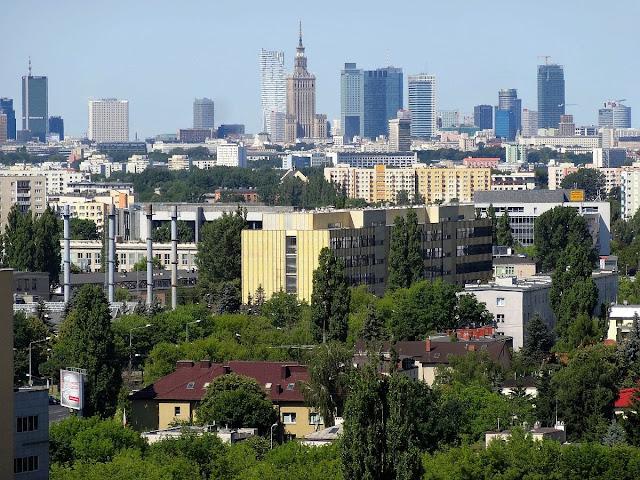 Panorama Warszawy z Witolina