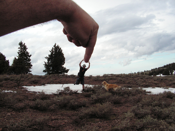 Forced Perspective Photography Making The Hand Look Big