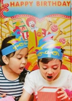 menu ulang tahun MacDonald's