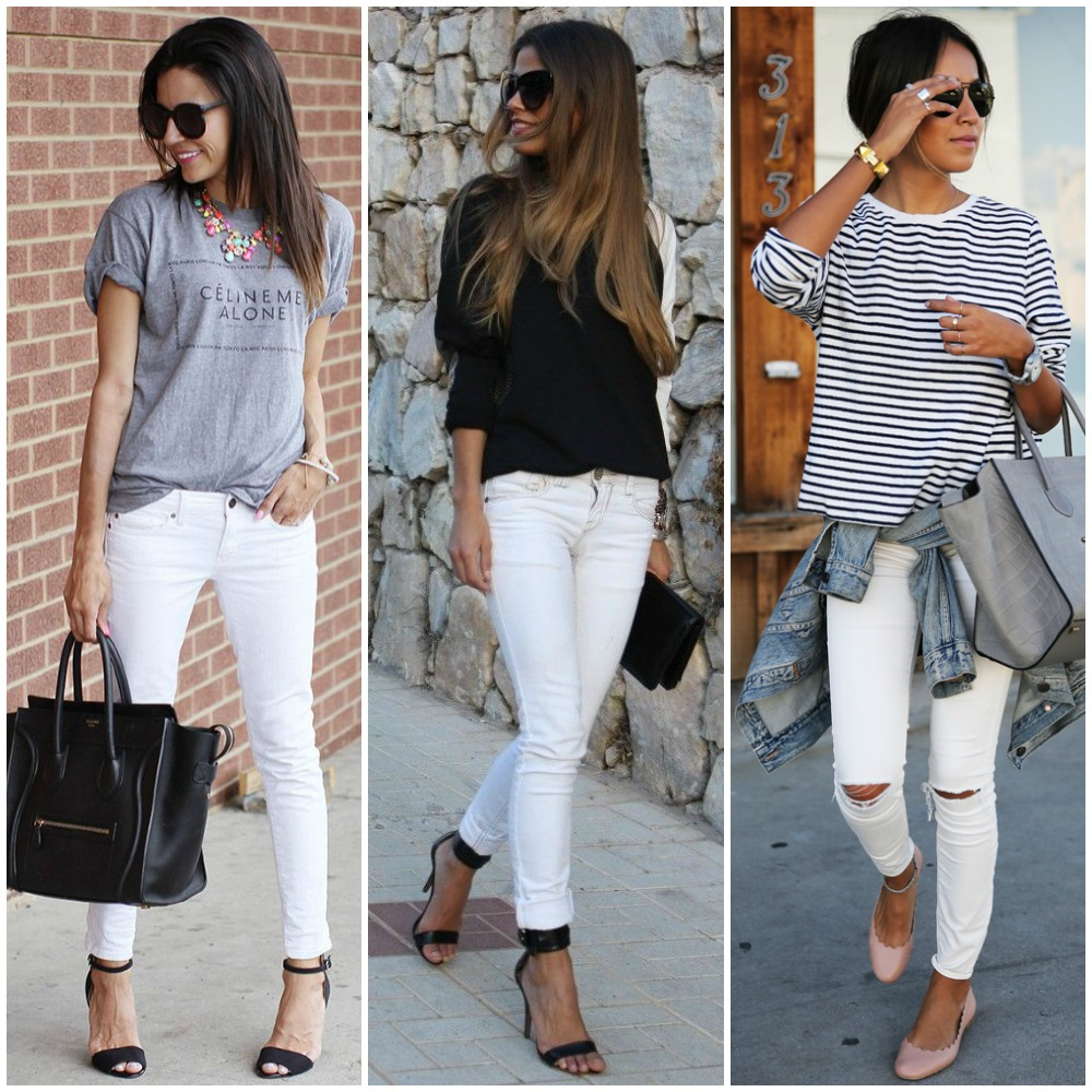 1 2 3Effortlessly Chic White Skinny Jean Looks  Fashion Fade