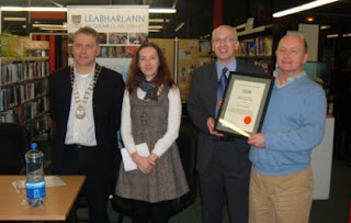 Library presented with CIGO Award for Excellence in Genealogy