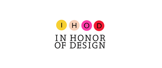In Honor Of Design
