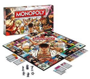sf monopoly Monopoly: Street Fighter Collectors Edition