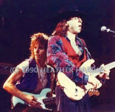 JEFF BECK, STEVIE RAY VAUGHN