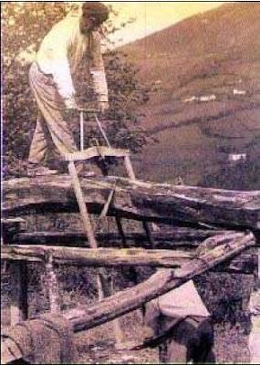 el corte de la madera arranca hace miles de años