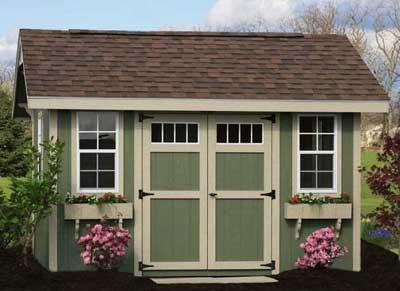 dreaming of a garden shed
