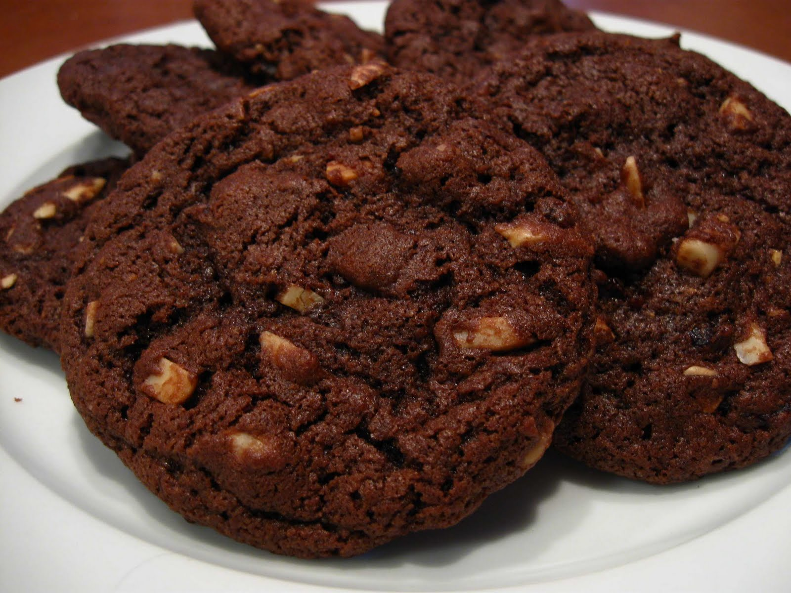 Cooking From Scratch: Chocolate Cherry Almond Cookies