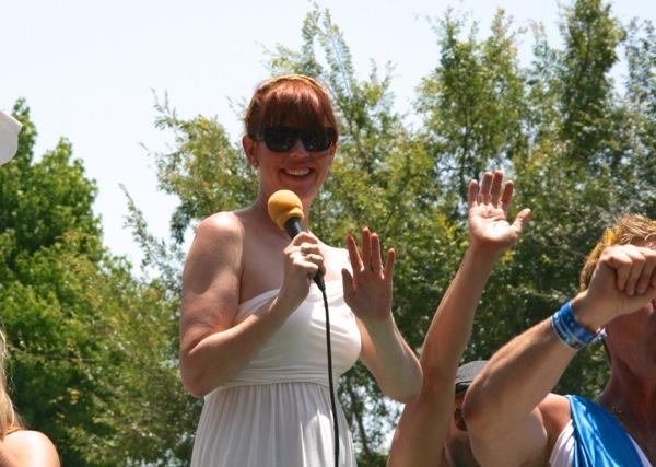 Molly Ringwald LA Pride Parade 2012