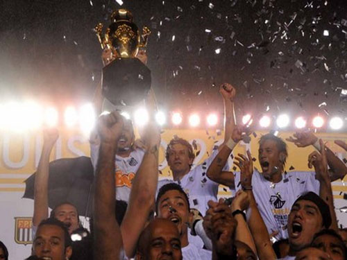Santos campeão paulista 2011, bi-campeão paulista