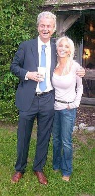 Geert Wilders and Georgette Gelbard