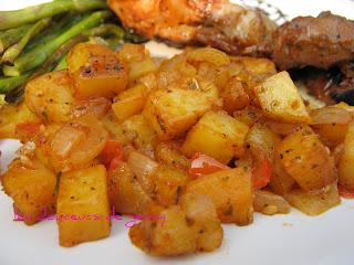 recettes legumes  Ptit gratin aux 2 patates!