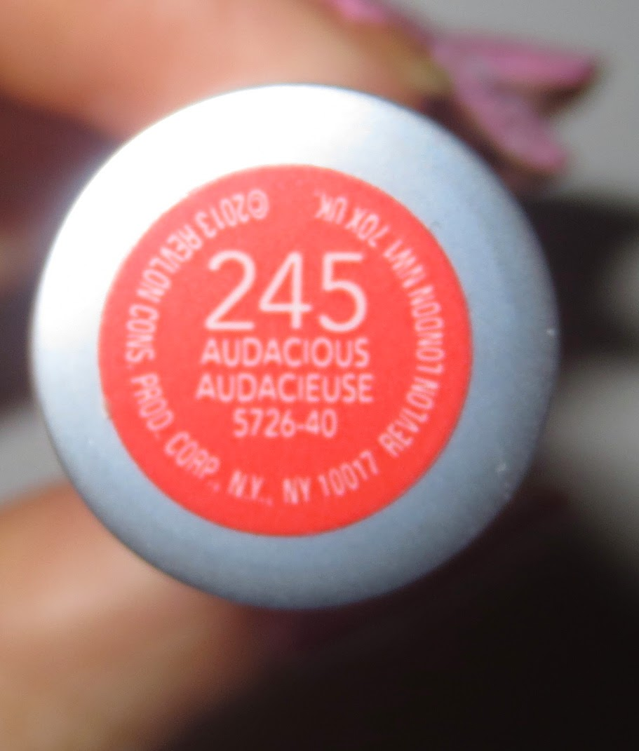 Revlon ColorBurst Matte Balm in Audacious Label