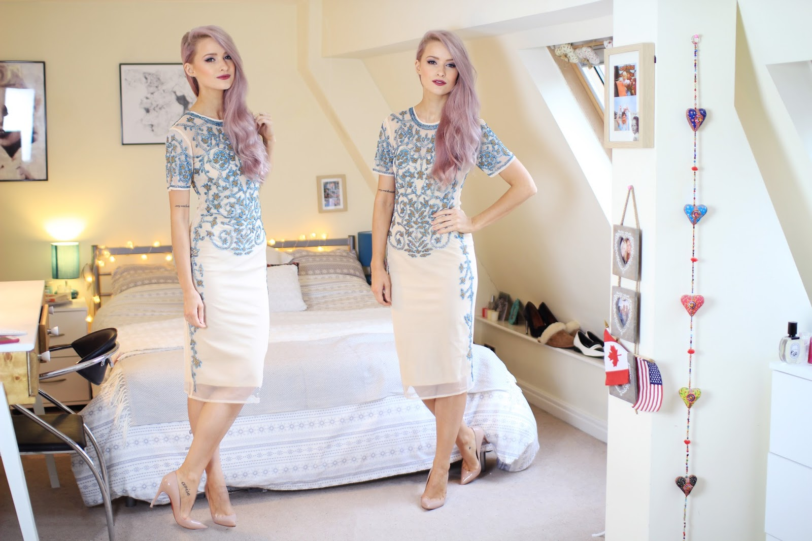 The ASOS Baroque Embellished Dress