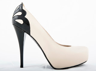 foto pantofi albi cu platforma ascunsa