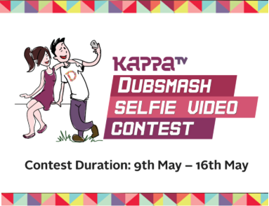 Kappa TV Dubsmash Selfie Video Contest