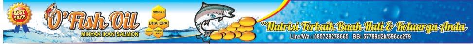 O`Fish Oil (Minyak Ikan Salmon)