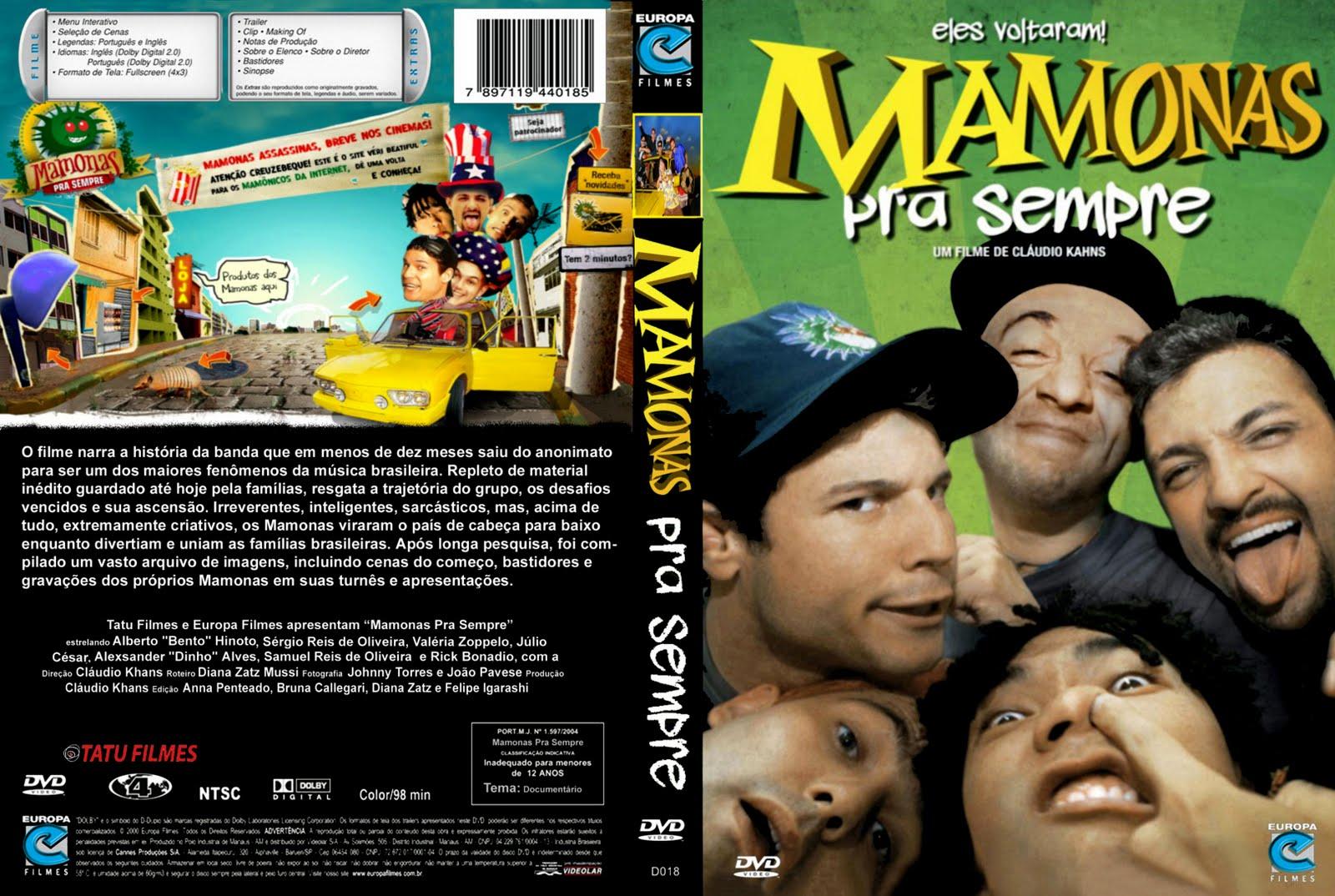 Mamonas Pra Sempre DVDRip XviD Nacional Mamonas 2BPra 2BSempre